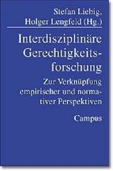 Interdisziplinäre Gerechtigkeitsforschung