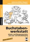 Buchstabenwerkstatt: Materialband - Tl.2