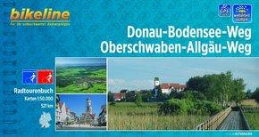 Bikeline Radtourenbuch Donau-Bodensee-Weg, Oberschwaben-Allgäu-Weg