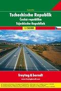Freytag & Berndt Atlas Tschechische Republik Superatlas, Autoatlas 1:150.000; Superatlas Ceská republika; Superatlas Tsj