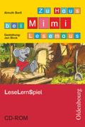 Mimi die Lesemaus, Ausgabe B: Zu Haus bei Mimi Lesemaus, LeseLernSpiel, 1 CD-ROM