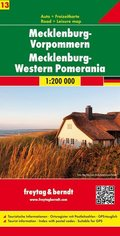 Freytag & Berndt Autokarte Mecklenburg-Vorpommern / Mecklenburg-Western Pomerania; Mecklembourg-Poméranie occidentale /