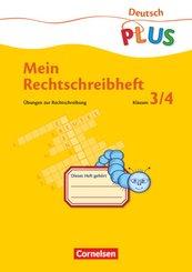 Deutsch plus - Grundschule - Mein Rechtschreibheft - 3./4. Schuljahr