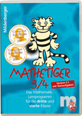 Mathetiger 3/4, 1 CD-ROM