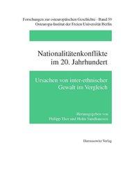 Nationalitätenkonflikte im 20. Jahrhundert