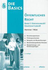 Basics Öffentliches Recht: VerfassungsR / StaatshaftungsR; Bd.1