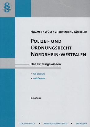 Polizei- und Ordnungsrecht Nordrhein-Westfalen