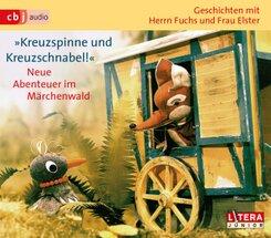 Kreuzspinne und Kreuzschnabel!, 3 Audio-CDs