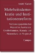 Mehrheitsdemokratie und Institutionenreform