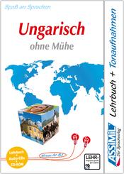 Assimil Ungarisch ohne Mühe, Lehrbuch, 4 Audio-CDs u. 1 CD-ROM