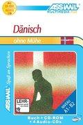 Assimil Dänisch, Lehrbuch, 4 Audio-CDs u. 1 CD-ROM