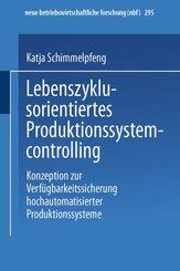Lebenszyklusorientiertes Produktionssystemcontrolling