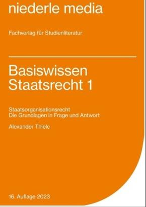Basiswissen Staatsrecht - Bd.1