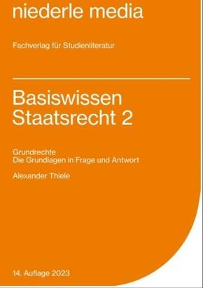 Basiswissen Staatsrecht II - Bd.2