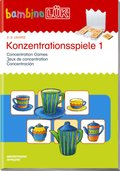 bambinoLÜK-Übungshefte: Konzentrationsspiele; .49 - Tl.1