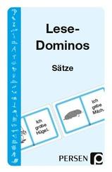 Lese-Dominos, Sätze (Kartenspiel)