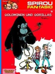 Spirou + Fantasio - Goldminen und Gorillas