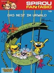 Spirou + Fantasio - Das Nest im Urwald