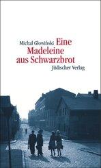 Eine Madeleine aus Schwarzbrot