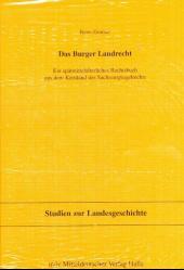 Das Burger Landrecht