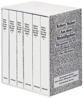 Aus dem Bleistiftgebiet, 6 Bde.: Mikrogramme 1924-1933, 6 Bde.