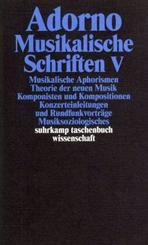 Musikalische Schriften - Tl.5