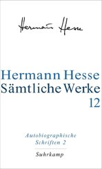 Sämtliche Werke: Autobiographische Schriften - Tl.2