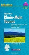 Bikeline Radkarte Rhein-Main-Taunus