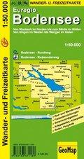 GeoMap Karte Euregio Bodensee Wander- und Freizeitkarte