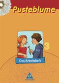 Pusteblume, Das Sprachbuch, Ausgabe 2003: Das Arbeitsheft, 3. Schuljahr