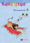 Bausteine Übungshefte, Allgemeine Ausgabe: 4. Schuljahr, m. CD-ROM