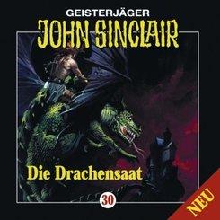 Geisterjäger John Sinclair - Die Drachensaat, 1 Audio-CD