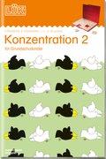 LÜK: Konzentration - Tl.2