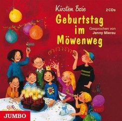 Geburtstag im Möwenweg, 2 Audio-CDs
