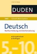 Deutsch Rechtschreibung und Zeichensetzung, 5. bis 10. Klasse