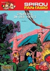 Spirou + Fantasio - Zauberei in der Abtei