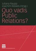 Quo vadis Public Relations?