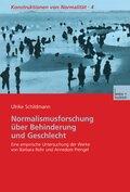 Normalismusforschung über Behinderung und Geschlecht