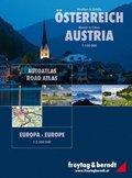 Freytag & Berndt Atlas Straßen & Städte Österreich, Europa; Roads & Cities Austria, Europa