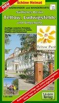Doktor Barthel Karte Südliches Berlin, Teltow, Ludwigsfelde und Umgebung