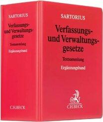 Sartorius 1 Verfassungs- und Verwaltungsgesetze, Ergänzungsband, zur Fortsetzung
