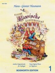 Kleine klassische Klavierstücke - Bd.1