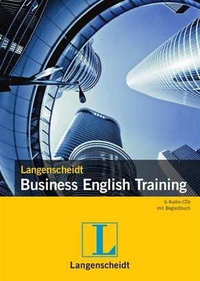 Langenscheidt Business English Training, 6 Audio-CDs + Begleitbuch