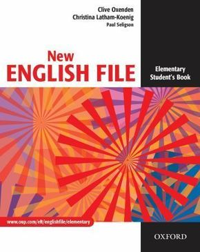 New English File, Elementary: Student's Book
