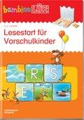 bambinoLÜK-Übungshefte: Lesestart für Vorschulkinder - Tl.1