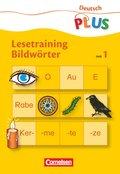 Lesetraining - Bildwörter - H.1