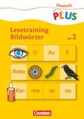 Lesetraining - Bildwörter - H.2