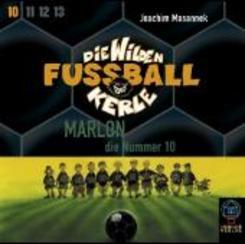 Die wilden Fußballkerle, Audio-CDs: Marlon, die Nummer 10, 3 Audio-CDs; Tl.10