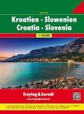 Freytag & Berndt Atlas Superatlas Kroatien-Slowenien / Croatia, Eslovenia / Kroatie, Slovenie