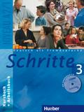 Schritte - Deutsch als Fremdsprache: Kursbuch + Arbeitsbuch, m. Arbeitsbuch-Audio-CD; Bd.3